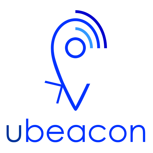 """Logo """"ubeacon"""" App"""